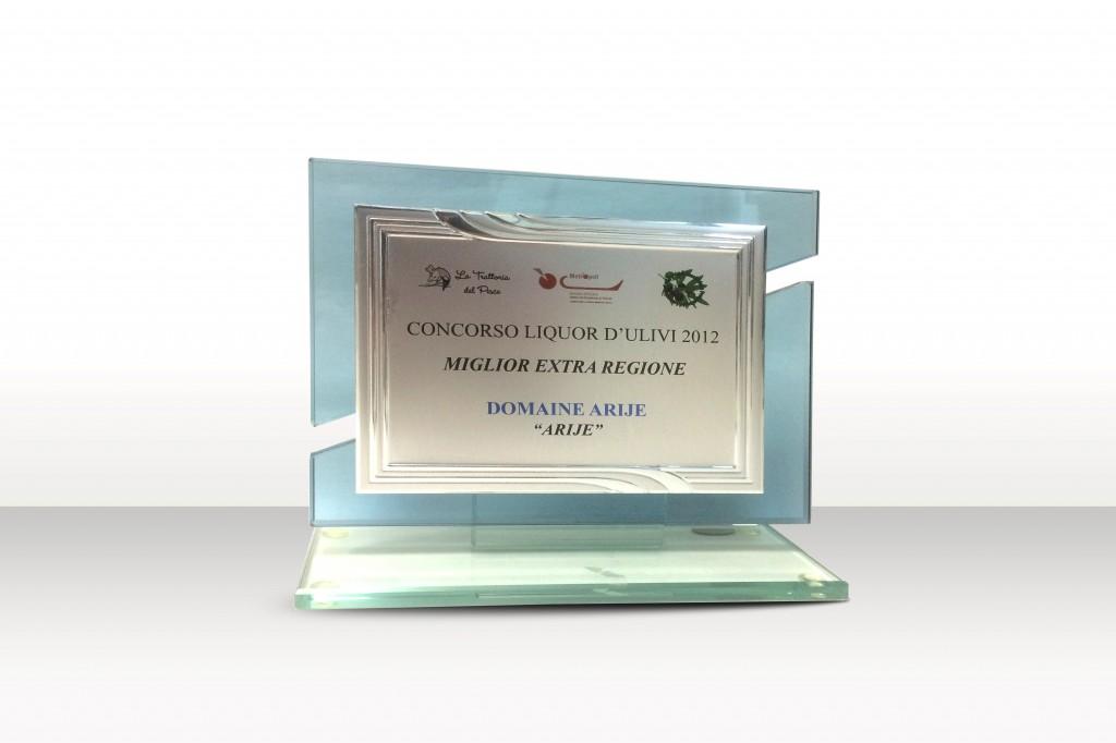 Prix Liquor Ulivi 2012